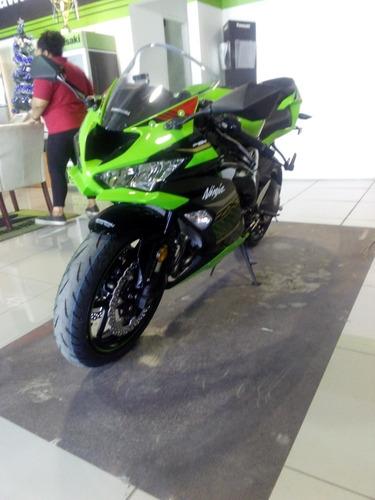 kawasaki ninja zx6r 636 abs krt verde lima