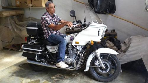 kawasaki police policial custom troco moto alta