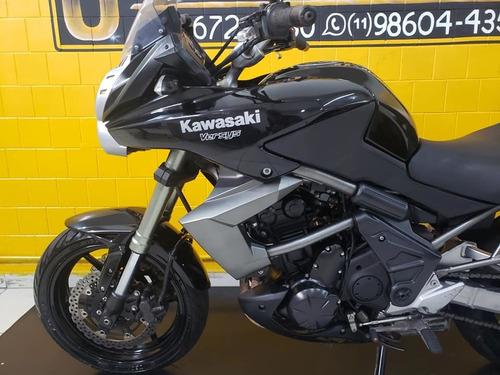 kawasaki versys 650 - 2011 - km 23.000 - preta.
