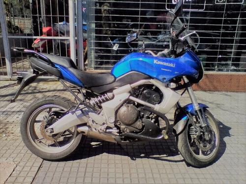 kawasaki versys 650 2011 usada, moto, urban, trial, azul