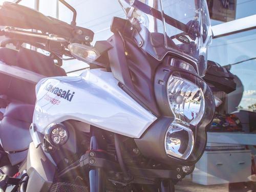 kawasaki versys 650 2013 lista para ruta con accesorios