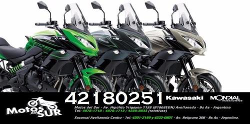 kawasaki versys 650 abs 2017