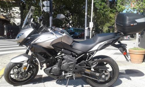 kawasaki versys 650 cc 2017 usada permutas en centro motos