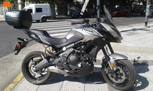 kawasaki versys 650 usada con accesorios 2017 centro motos