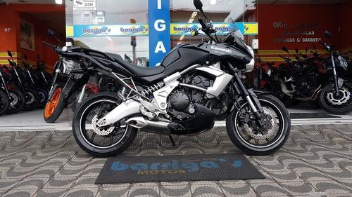 kawasaki versys 650cc abs 2010 preta impecável