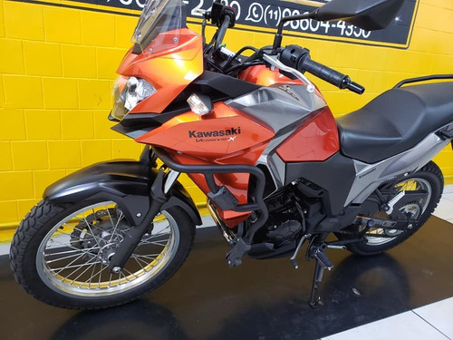 kawasaki versys x 300 - 2018 - laranja  - km 13.000