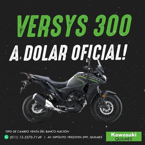 kawasaki versys x 300 2020 0km abs dolar oficial bna!!!