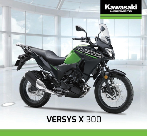 kawasaki versys x 300 abs- 2020   lidermoto stock disponible