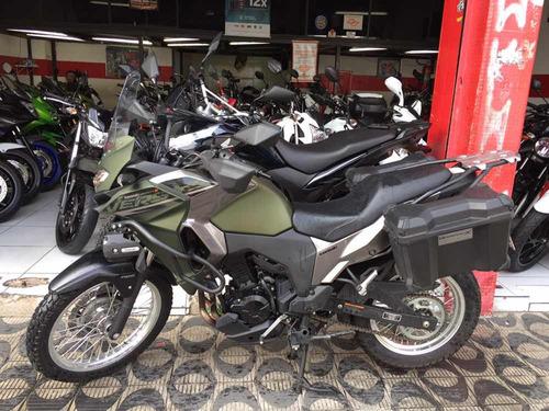 kawasaki versys-x 300 tourer ano 2018 shadai motos