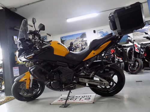 kawasaki versys650 amarilla 2012