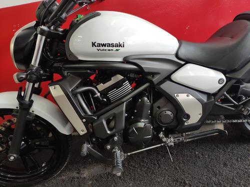kawasaki vulcan 650 s 650s 2016 branca branco