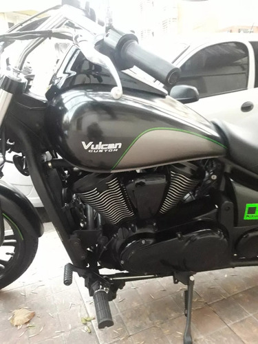 kawasaki vulcan 900 custom 2017negra dueño vende srvice ofic