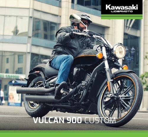 kawasaki vulcan 900 custom 2020  lidermoto- todo el line up!