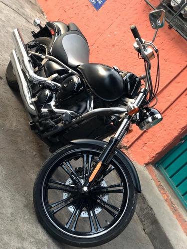kawasaki, vulcan custom 900 cc, edicion especial, 2010.