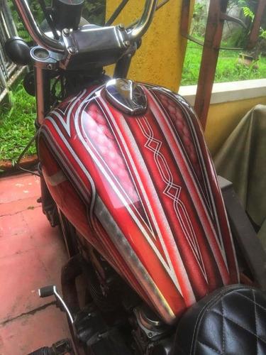 kawasaki vulcan en 500 - aceito troca por scooter.