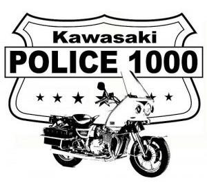 kawasaki z 1000 police muy buen estado