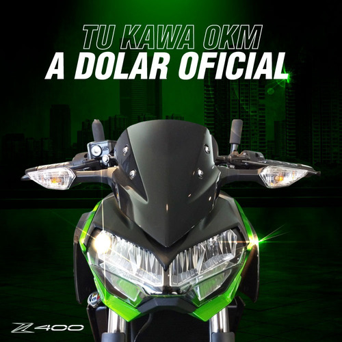 kawasaki z 400 2020 abs z400 naked nueva no honda cb