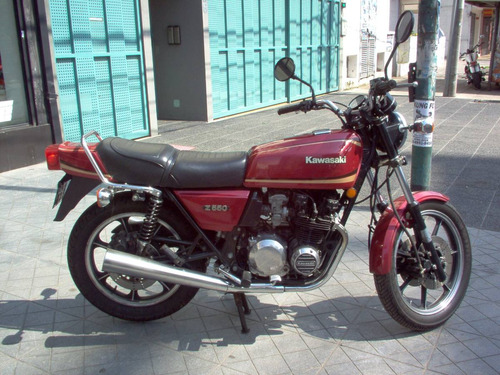 kawasaki z 550 año 1981 original!!!
