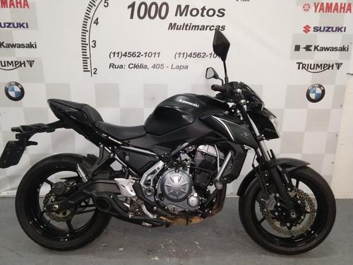 kawasaki z 650 2018 otimo estado aceito moto