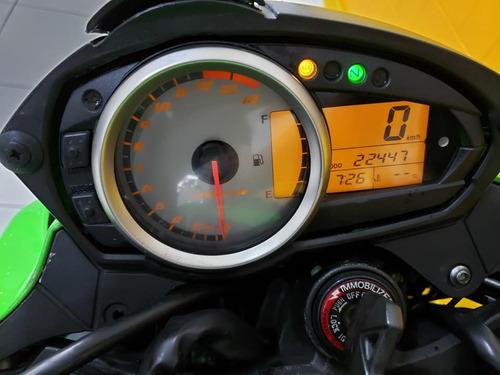 kawasaki z 750 - 2011 - verde - km 22 000- 1197740-1073 débo