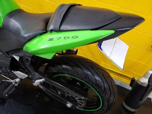 kawasaki z 750 - 2011 - verde - km 22 000