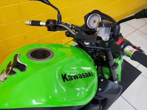 kawasaki z 750 - 2011- verde - km 26 000