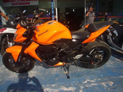 kawasaki z 750 laranja ano 2009 troca financia r$ 24.999