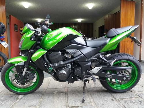 kawasaki z 750 verde 2012