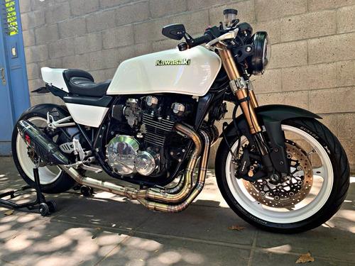 kawasaki z1000 j 1981 colección unica cafe racer reformada