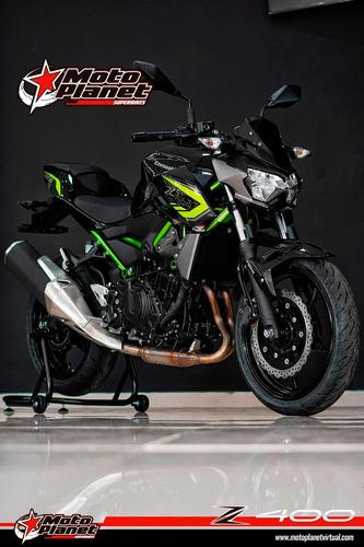 kawasaki z400 negro verde 2021 nueva bogotá