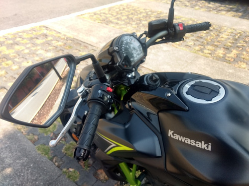 kawasaki z650 2018 equipada solo 1,700 kms ninja 650 naked