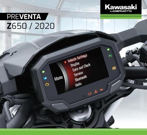 kawasaki z650 linea 2020 lidermoto todo el line up