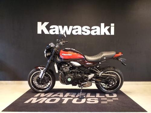 kawasaki -  z900rs - 0km - retro - triumph boneville