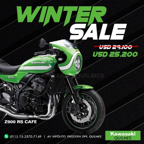 kawasaki z900rs cafe winter sale no ducati scrambler triumph