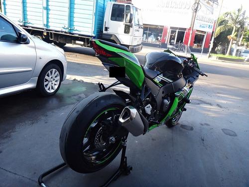 kawasaki zx-10r verde/negra el mejor color impecable!!!