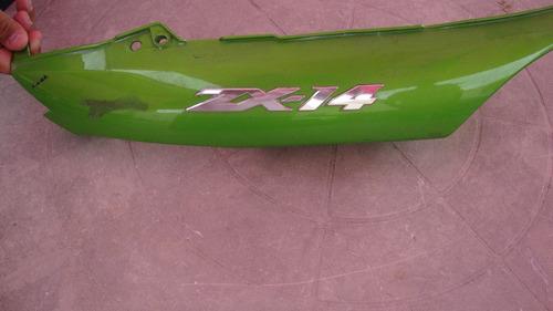 kawasaki zx14 lateral direita e rabeta