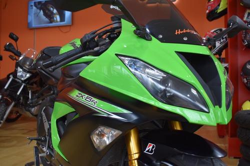 kawasaki zx6r 636 escape carbono accesorios hobbycer bikes