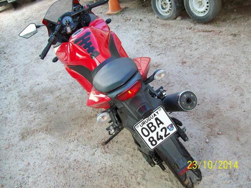 kawasaky ninja ex250 flamante, posible permuta x camioneta