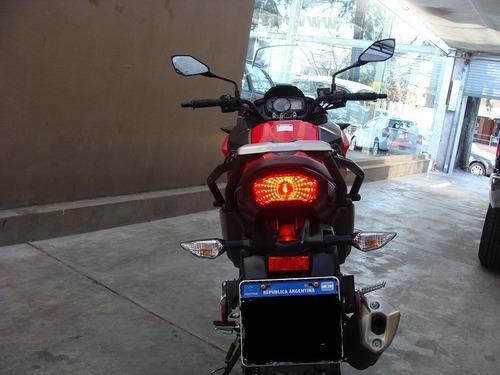 kawasaky versys 300 2018 roja segunda mano 12300km