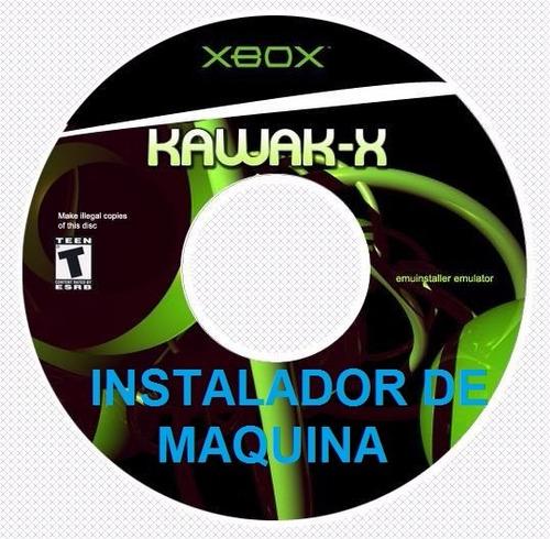kawax convierte xbox clasico en maquina arcade 100 juegos