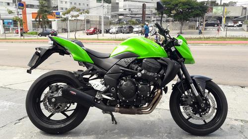 kawazaki z 750 abs  verde  2011 toda original