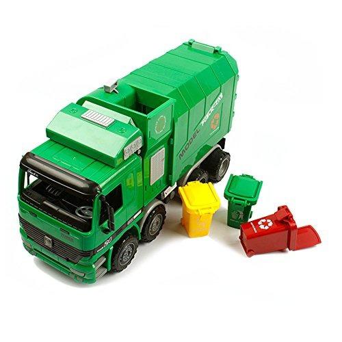 kawo niños basura saneamiento camiones juguete coche