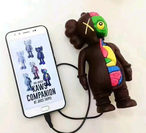 kaws dissected powerbank exclusivo bateria extra iphone note