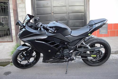 kawsaki ninja 300 negra se + excelente estado