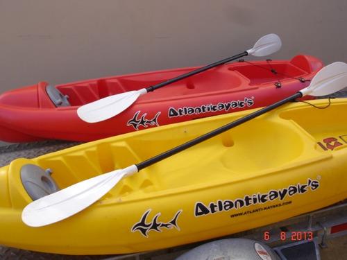 kayak atlantikayak k1 + remo nautica milione