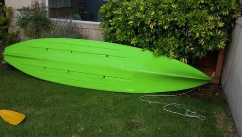 kayak atlantis patagonian  con pedalera y remos autosfacu