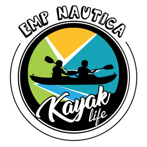 kayak atom samoa con remo chaleco y asiento by emp nautica