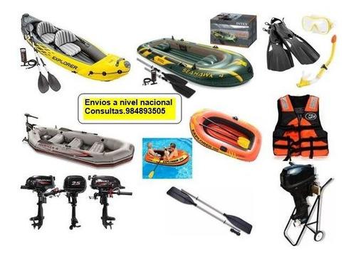 kayak ,bote inflable para 2 personas. uso en mar , laguna