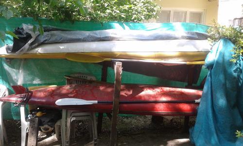 kayak con remos- tigre.