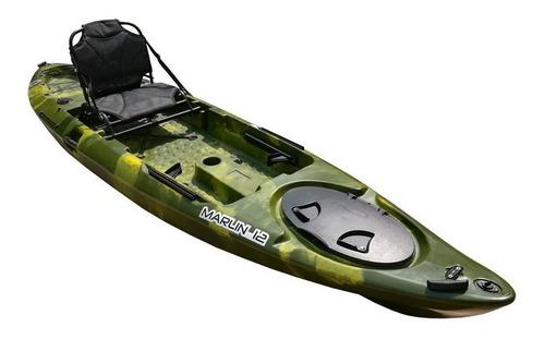 kayak de pesca 12 pies nuevo, con remo y asiento completo